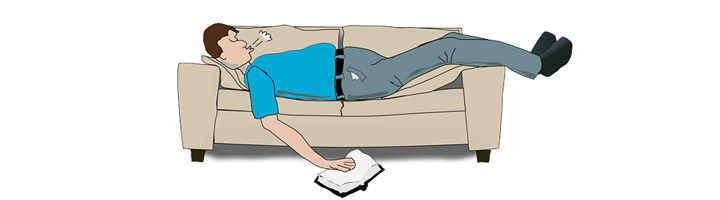 Snurken door overgewicht
