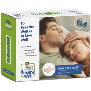 Dr. Breathe Well Anti Snurk Neuspleisters