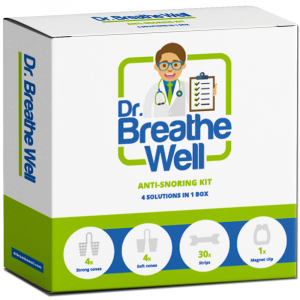 Dr. Breathe Well Anti Snurk Neusspreider Pakket