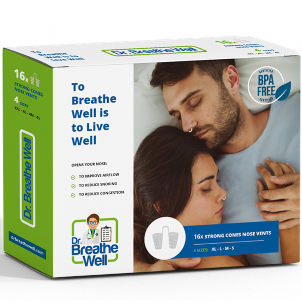 Dr. Breathe Well Stevige Neusspreider Buisjes