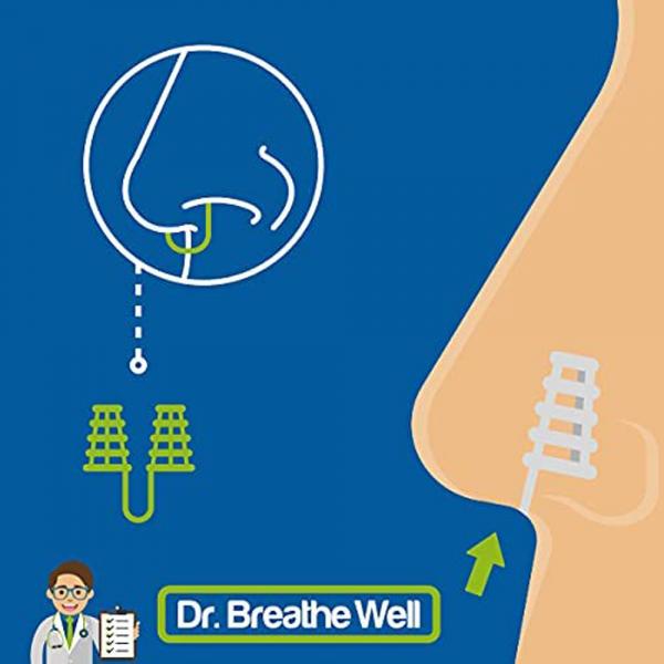 Dr. Breathe Well Stevige Neusspreider Buisjes werking