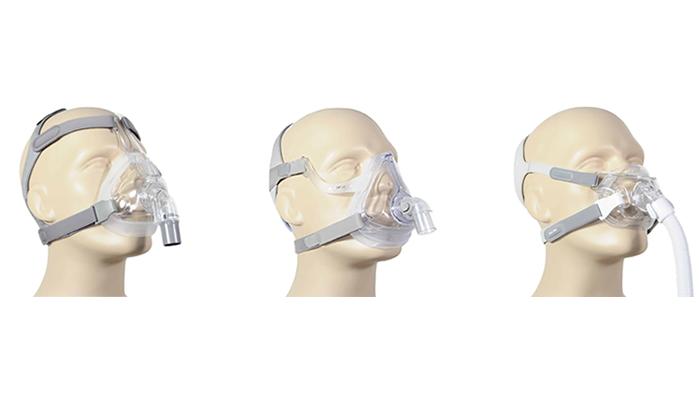 Full-Face CPAP maskers (volgelaatsmasker)