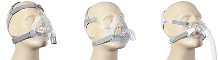 Full-Face CPAP maskers