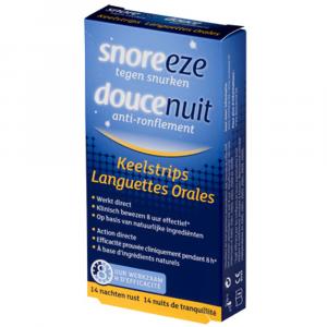 Snoreeze Anti-snurk Keelstrips