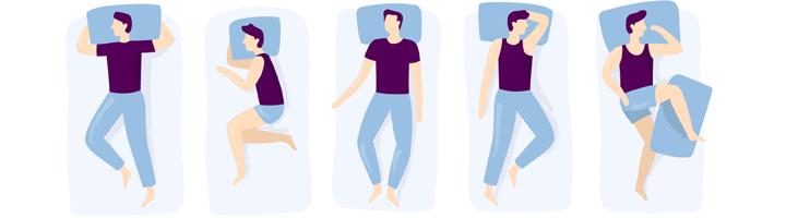 Oorzaak snurken: rugligging