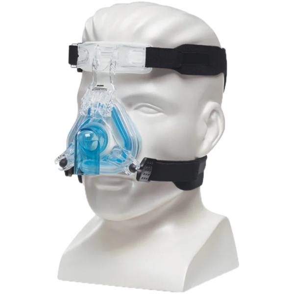 Philips ComfortGel Blue CPAP Neusmasker op buste
