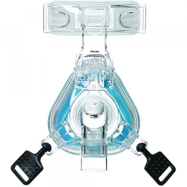 Philips ComfortGel Blue CPAP Neusmasker voorkant